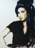 Amy Winehouse 60 x 80   Acryl