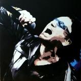 Bono U2   75 x 75   Acryl