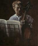 David Bowie, in opdracht. 50 x 60