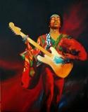 Jimi Hendrix 70 x 90