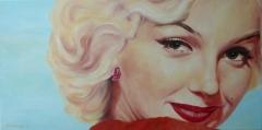 Marilyn Monroe,  eyecatcher   80 x 40