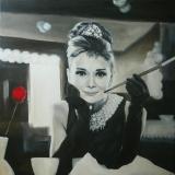 Audrey Hepburn 70 x 70